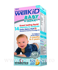 WELLKID BABY INFANT SIROP